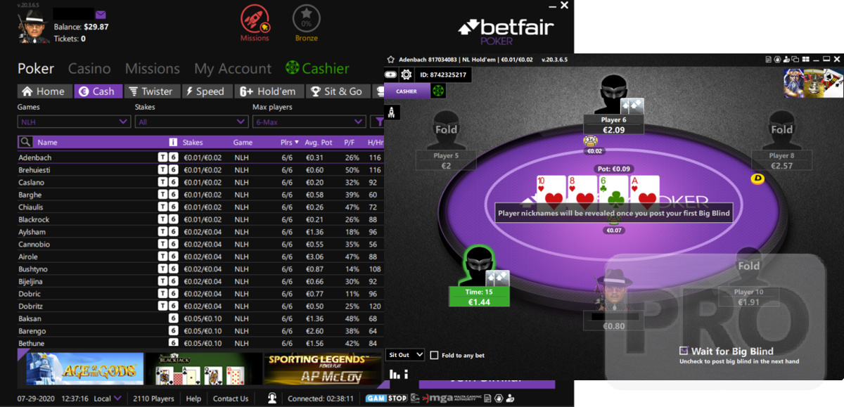 Ipoker Focuses On Cash Game Ecology With Anonymous Lobby New Sit Out Rules Poker Industry Pro