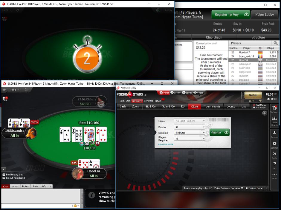 beat the clock pokerstars