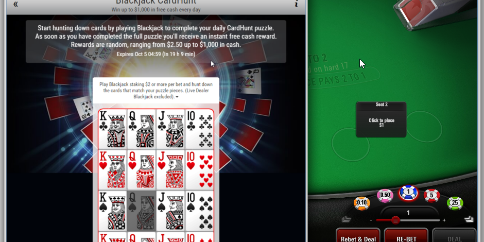 Pokerstars Takes Card Collection Promos To The Casino Poker