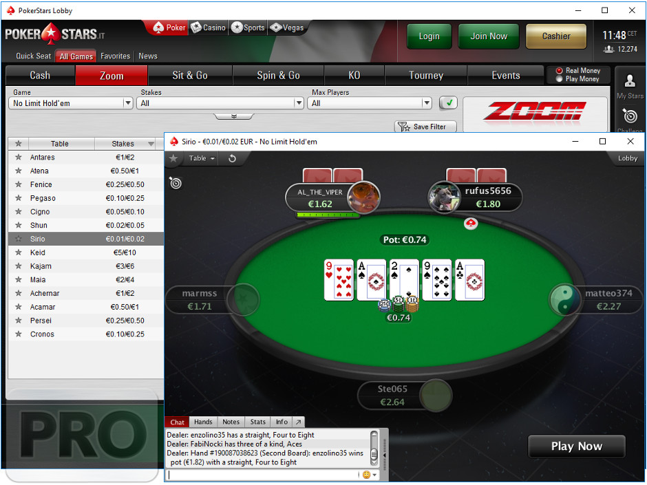 games changes poker