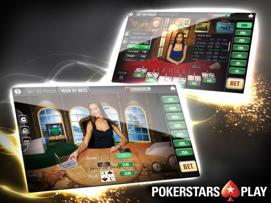 Stars Group Launches Live Dealer Free Play Casino Games In