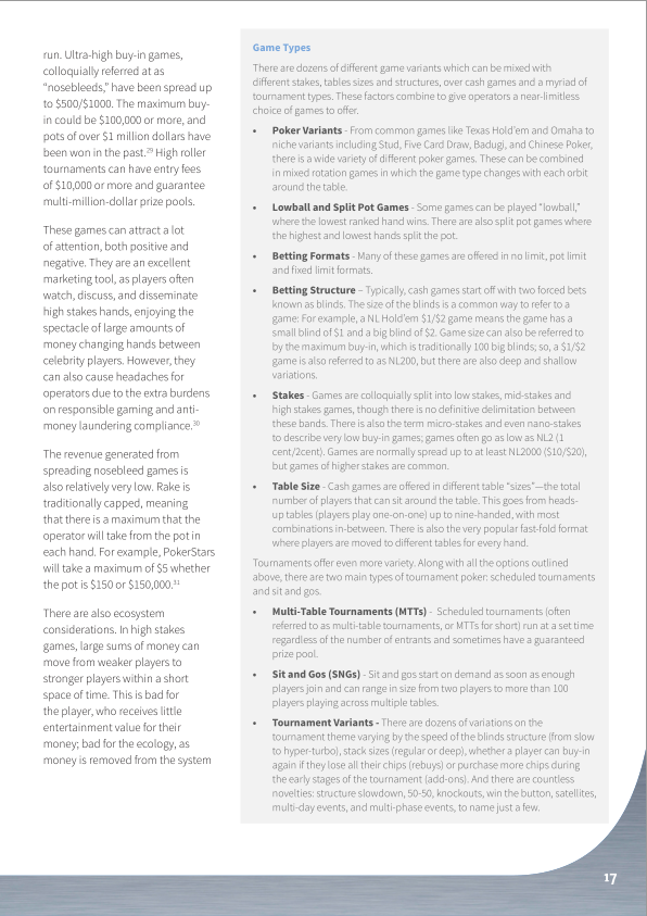 Understanding the Online Poker Industry - Sample Page 2